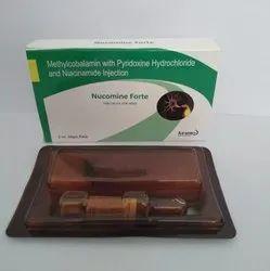 Methylcobalamin & Niacinamide Pyrodoxine Inj