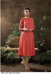 Stylish Silk Kurtis