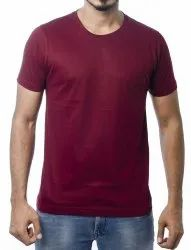 Mens Causal Cotton Round Neck T-Shirt
