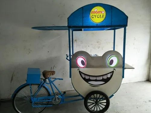 MS, SS Fibre Delight Fast Food Cycle Cart,  Size/Dimension: 42 X 30 Inch