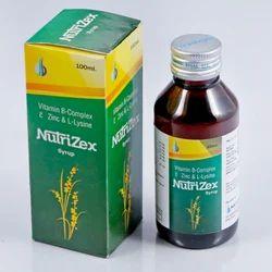 Vitamin B-Complex C Zinc and L- Lysine Syrup