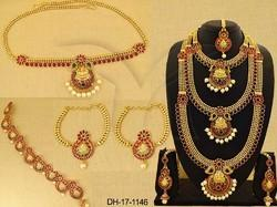 Temple Jewellery Temple Dhulhan Set