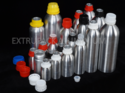 Plastic Collar Aluminium Bottle
