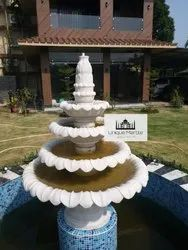 Lotus Marble Fountain