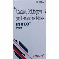 Inbec / Abacavir 600 Mg Dolutegravir 50 Mg Lamivudine 300 Mg