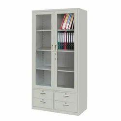 Yashasvi Technologies Gray Glass Door Cupboard, For Home, Office etc