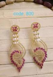 Wedding Traditional Imitation Earrings