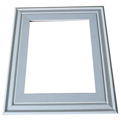 Silver Plastic Photo Frame