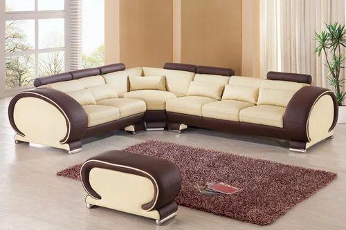 Designer Furniture Sale: Designer L Shape Sofa Set At Rs 45000 /set