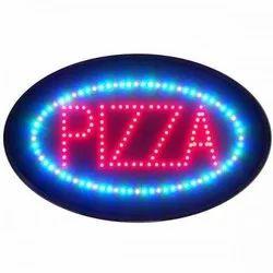 Oval Shape LED Sign Board