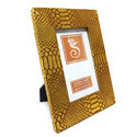 Brown Leatherite Paper Photo Frame