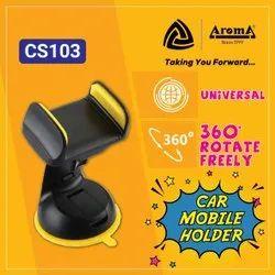 Plastic Black DashBoard Car Mobile Holder, Model Name/Number: CS103