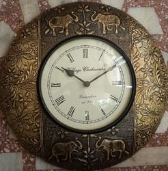 Antique Metal Wooden Wall Clocks