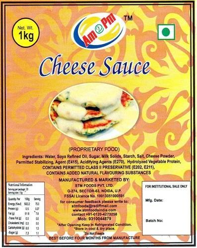 Dairy Craft Cheese Nacho Cheese Sauce Wholesale Distributor From Kanpur