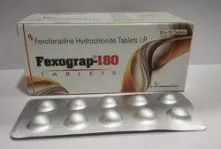 Fexofenadine Hydrochloride 180 mg Tablets