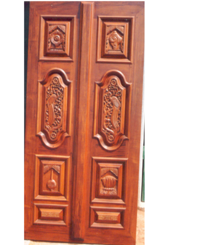 Raised Panel Door, Size/Dimension: 92 X 52