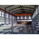 Industrial Crane Steel Shed