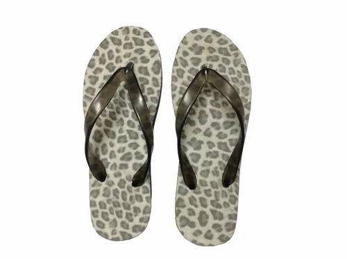 e431f3697fa0 Women Printed Non-Skid PU Bathroom Slippers Designer Leopard Print ...