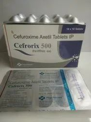 Cefuroxime Axetil Tablets IP(Cefrorix 500)