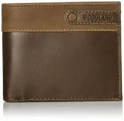 Woodland W 516008 Brown Men's Leather Wallet