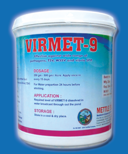 METTLE BIO SCIENCES Virmet-9 Aqua Feed Supplement, Pack Size