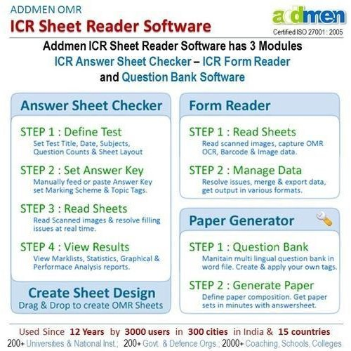 ICR Sheet Reader Software