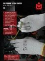 Marvel ESD PU Coated Gloves On Fingers & Thumb