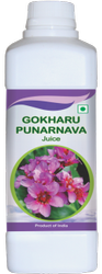 Brown Gokharu Punarnava Juice