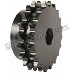 Mild Steel Duplex Chain Sprocket