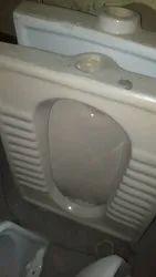 White Indian Toilet