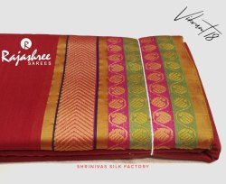 Party Wear Printed Vibrant - 18 Cotton Saree, With blouse piece, 5.5 m (separate blouse piece)