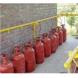 Gas Manifold Cylinder Banks