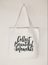 hashtag eco Natural Canvas Tote Bags