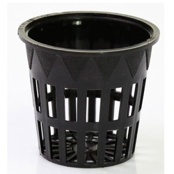 Black Plastic Net Pot