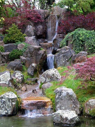 Artificial waterfall garden waterfall manufacturer from for Small backyard waterfalls