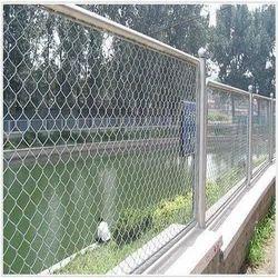 Kolheshwari Steel Vinyl Chain Link Fence