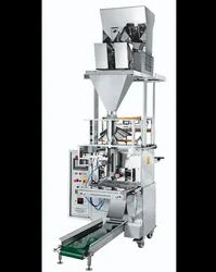 Two Head Weigher Fully Pneumatic Pouch Packing Machine (Collar Type)