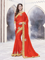 Butta Work Fancy Chiffon Saree