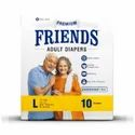 Friends Easy Adult Diapers - Large