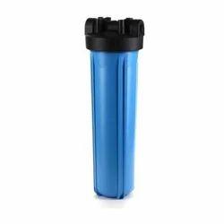Plastic Blue And Black Jumbo Water Filter Housing