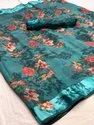 Satin Border Linen Saree
