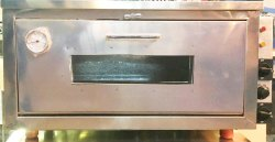 6 Inch Modern Stainless Steel Pizza Oven