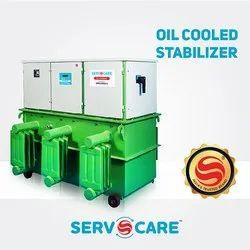 Servocare Oil Cooled Servo Voltage Stabilizer