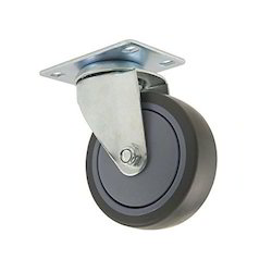 Hospital Grey Rubber Caster