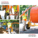 Optical Fiber Cables Open Trenching Services