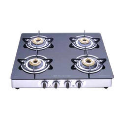 CGX 4 Glass Body SS Cook Top Stove