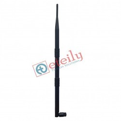 GSM 9dBi Rubber-Duck Antenna with SMA Male Movable