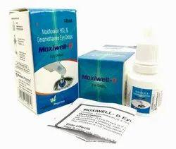 Moxifloxacin Dexamethasone Eye Drops