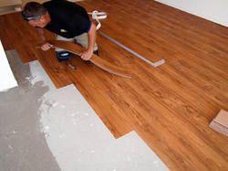 PVC Vinyl plank tile with installation service