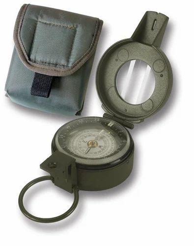 Green V TECH Liquid Prismatic Compass, Size/Diameter: 3/4 Inch X 24 Threads., Packaging Type: Box